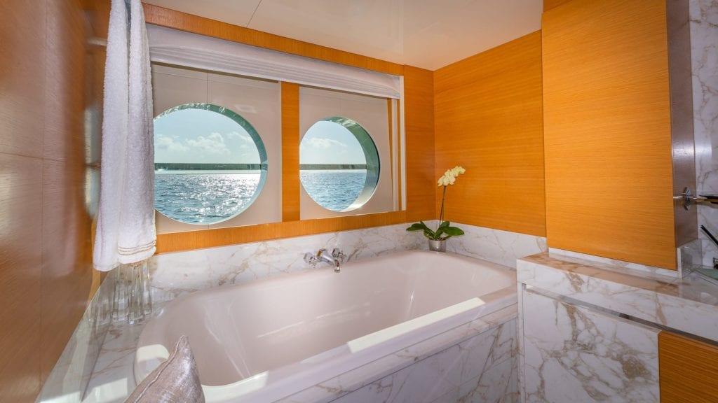 db9 yacht interior ensuite