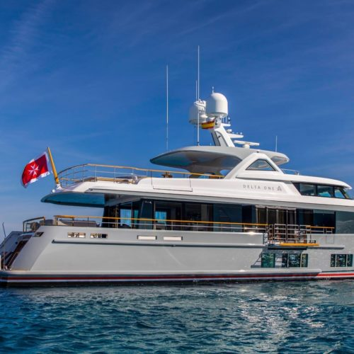 motor yacht delta one profile