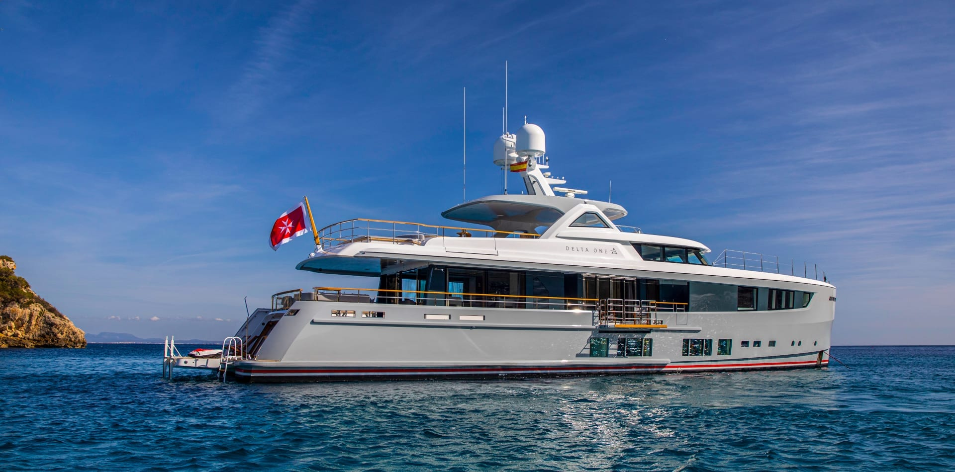 motor yacht delta one profile