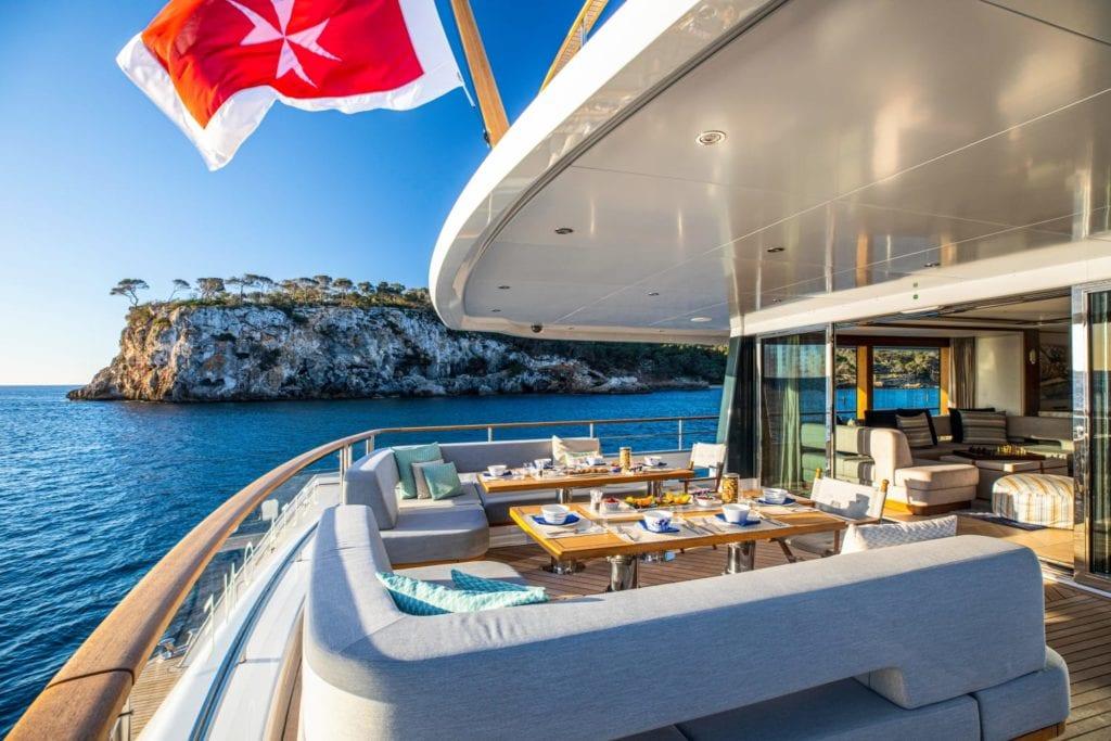 delta one yacht exterior