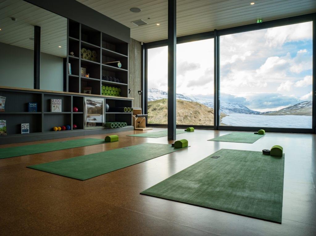 yoga studio Deplar Farm