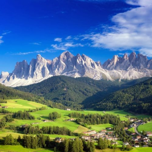 The Majestic Mountains of Italy's Dolomites