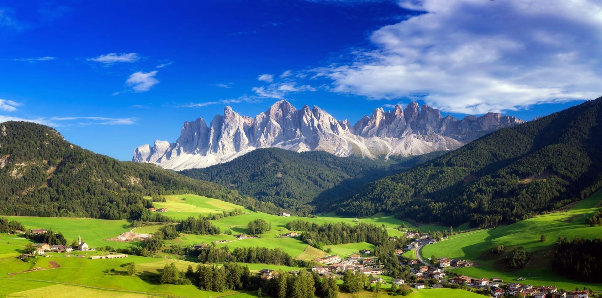 Dolomites Italy Summer