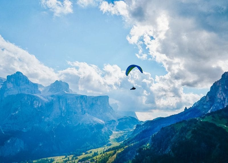 Paraglide and take in these incredible views from above