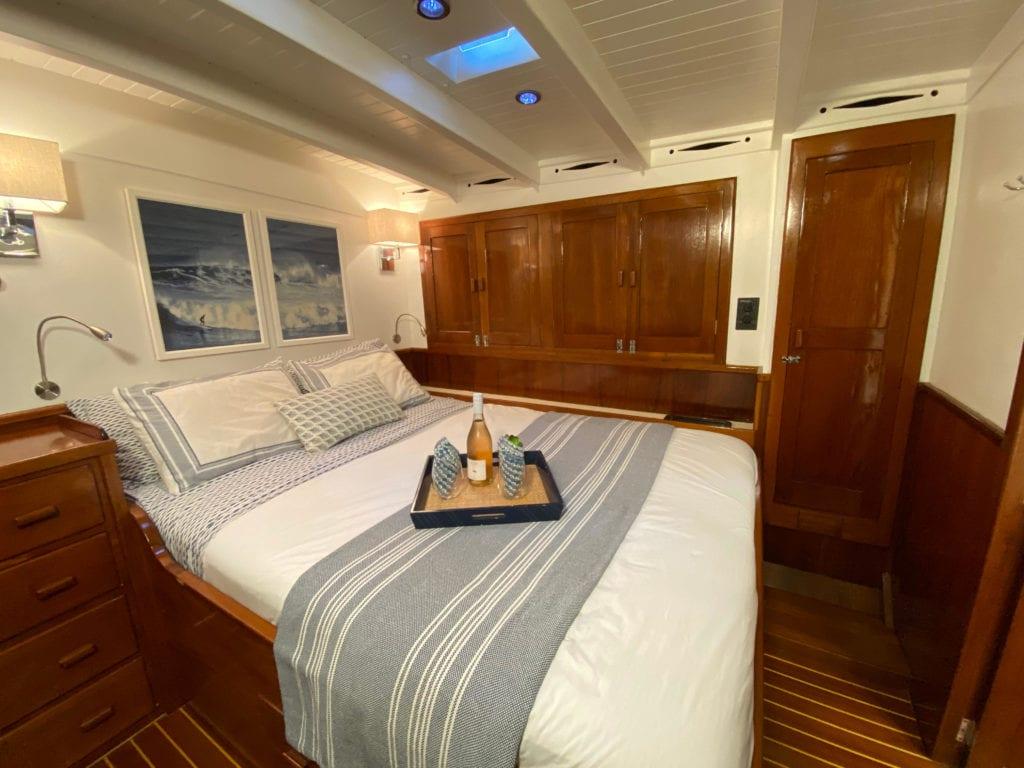 eros sailing yacht interior
