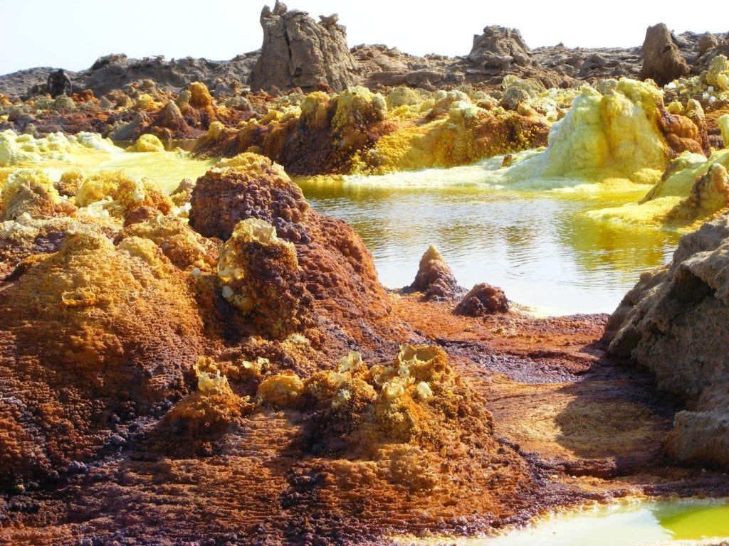 Ethiopia Mineral formations