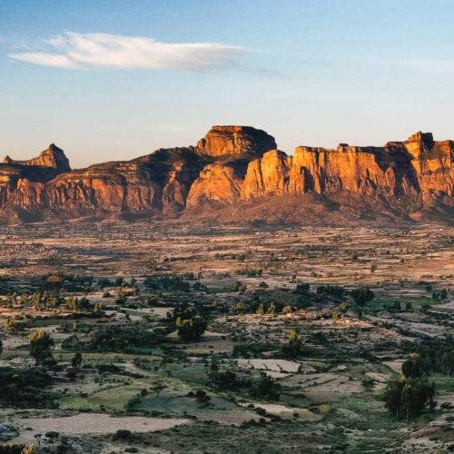 Ethiopia rock formation