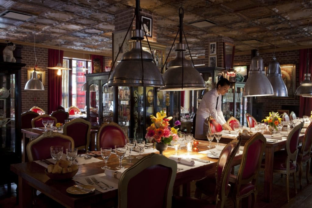 Dining area Faena Buenos Aires