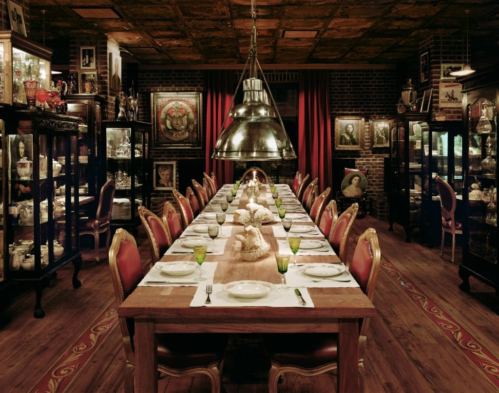 Faena dining table Buenos Aires