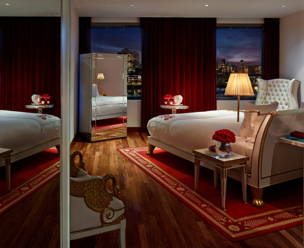 Skyline suite interior Faena