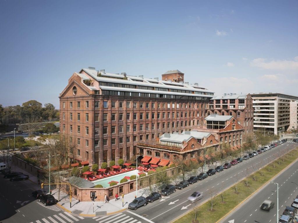 Faena hotel exterior Buenos Aires