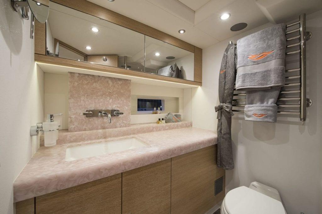firebird yacht interior
