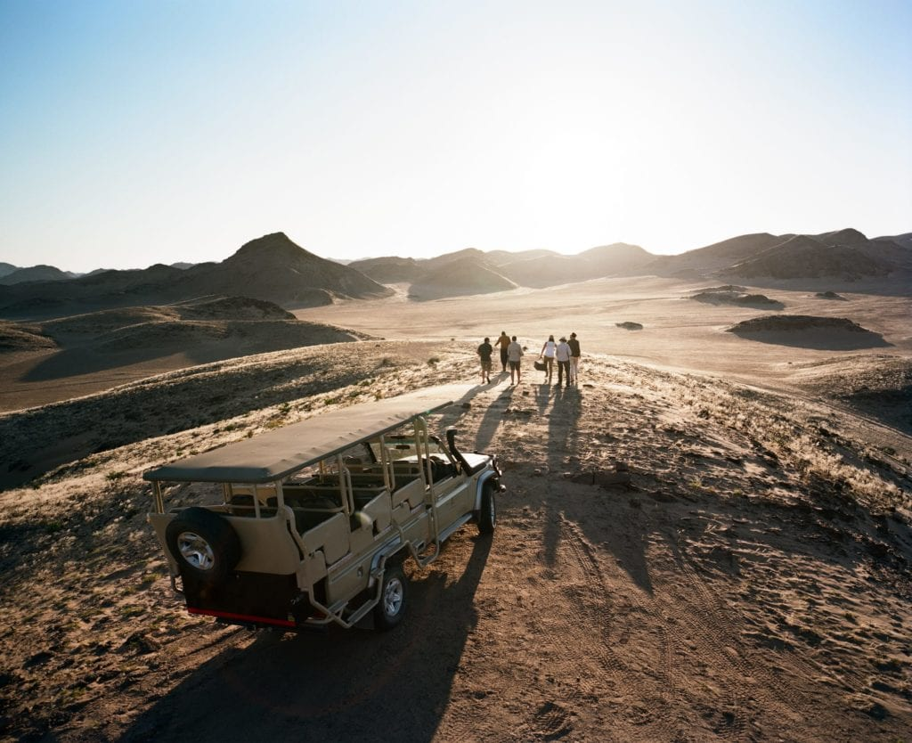 Game Drive Sundowners Namibia