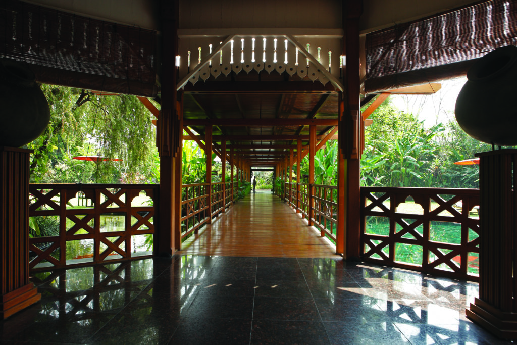 walkway through governors residence