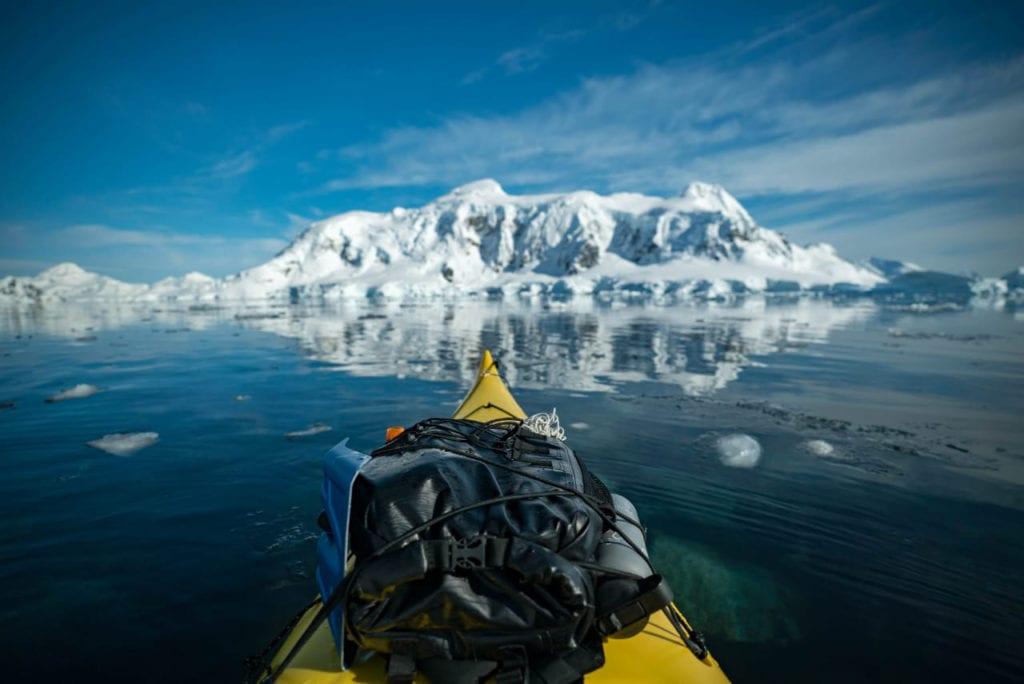 Greenland Fjord Kayak Front