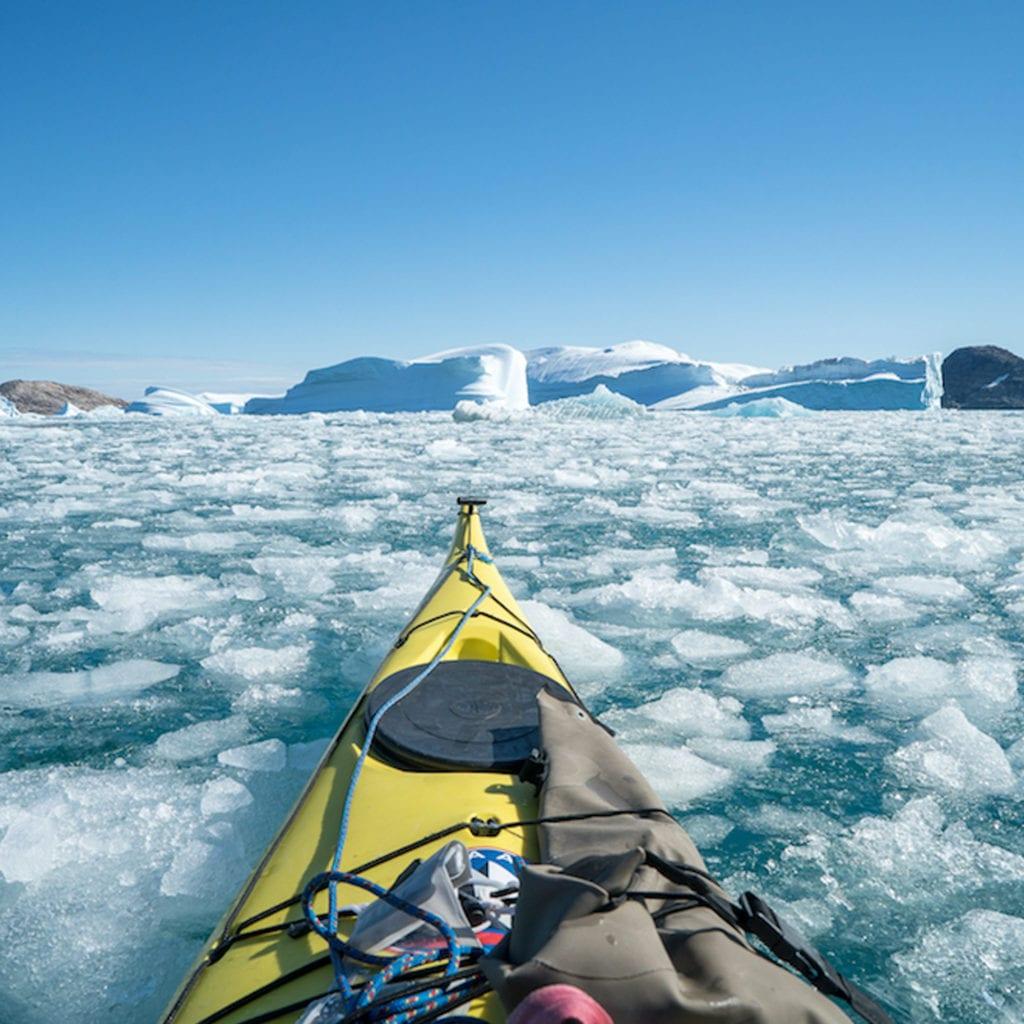 Greenland Ice Kayaking