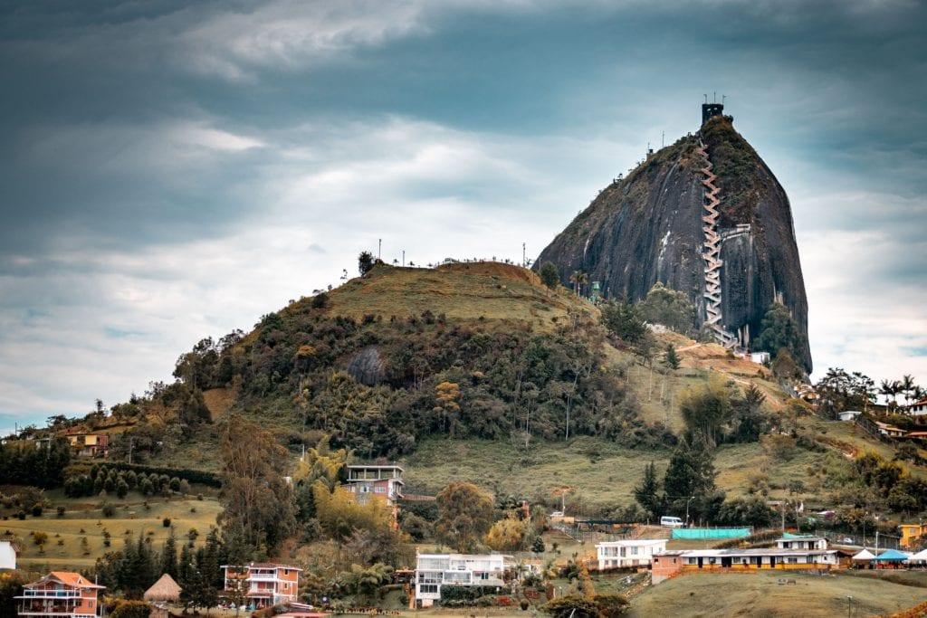 Mountainous region of Guatape, Colombia