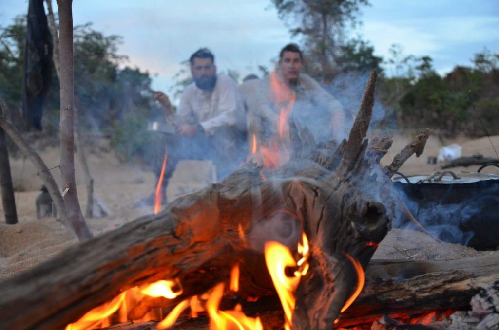 Campfire in Guyana