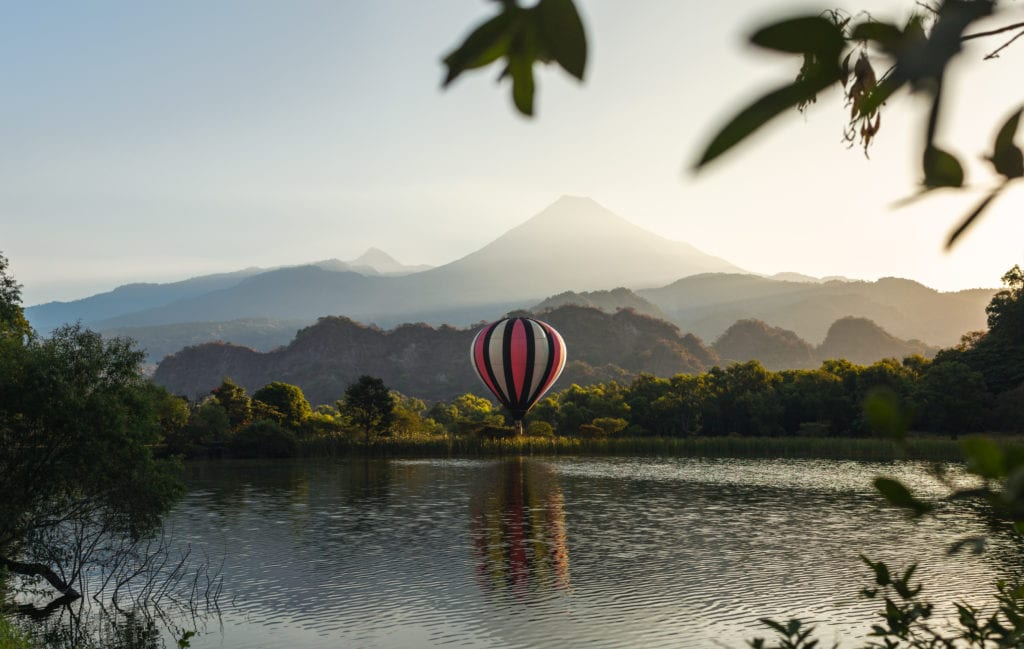 hacienda de san antonio hot air balloon experience