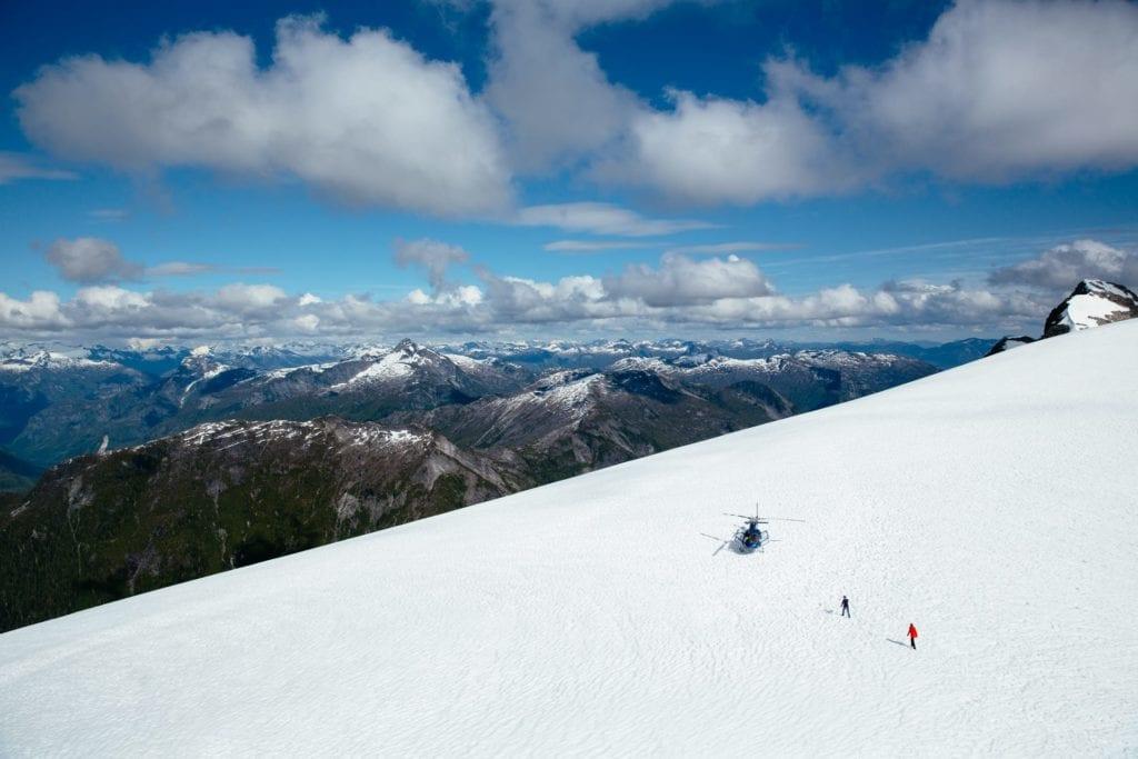 British Columbia Heli Skiing Excursion