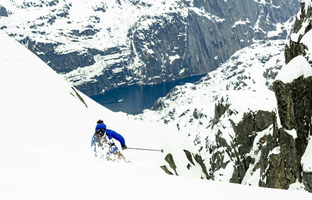 Heli Skiing Sweden