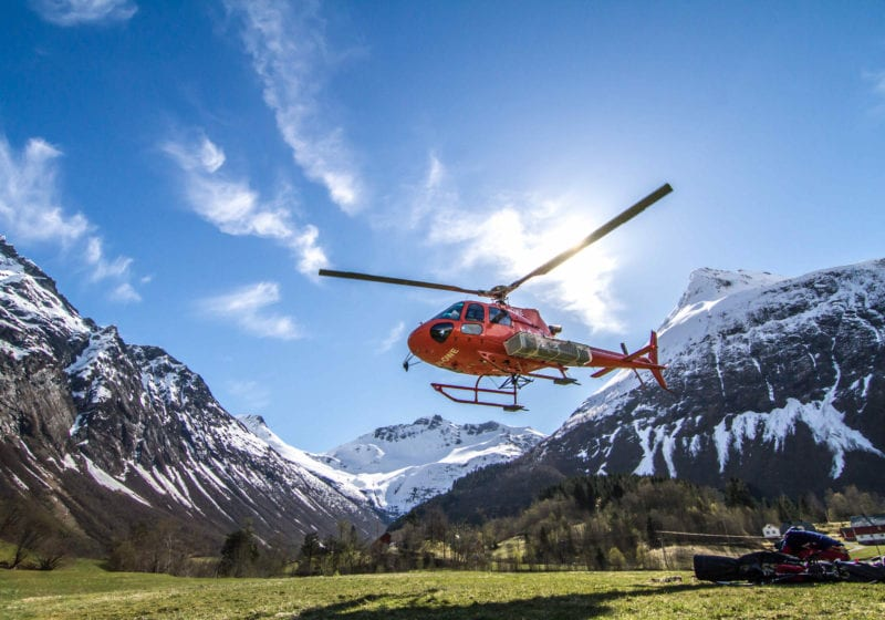 Helicopter Norway Pelorus