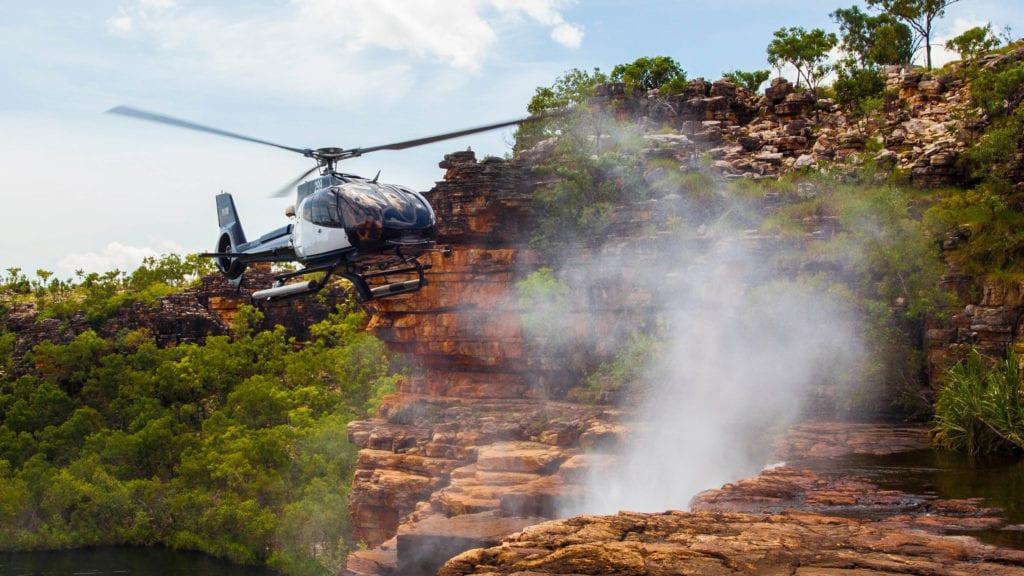 Helicopter the Kimberley Australia