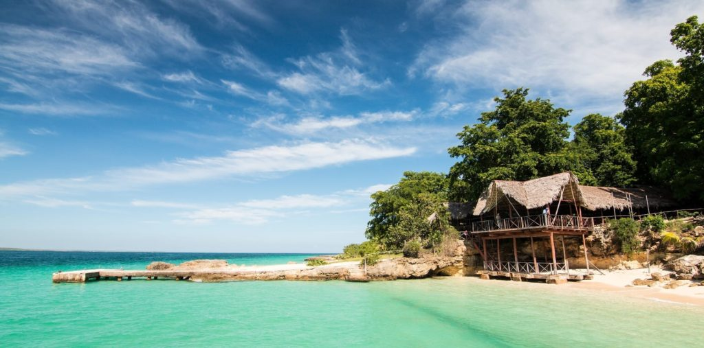 beach hut cuba