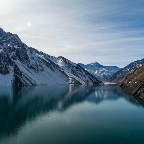 Hidden Lagoon Mountains Chile