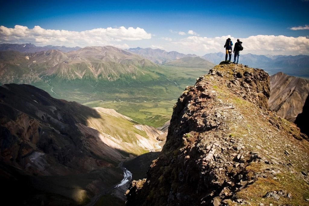 Hiking Wrangell St Elias Alaska Pelorus