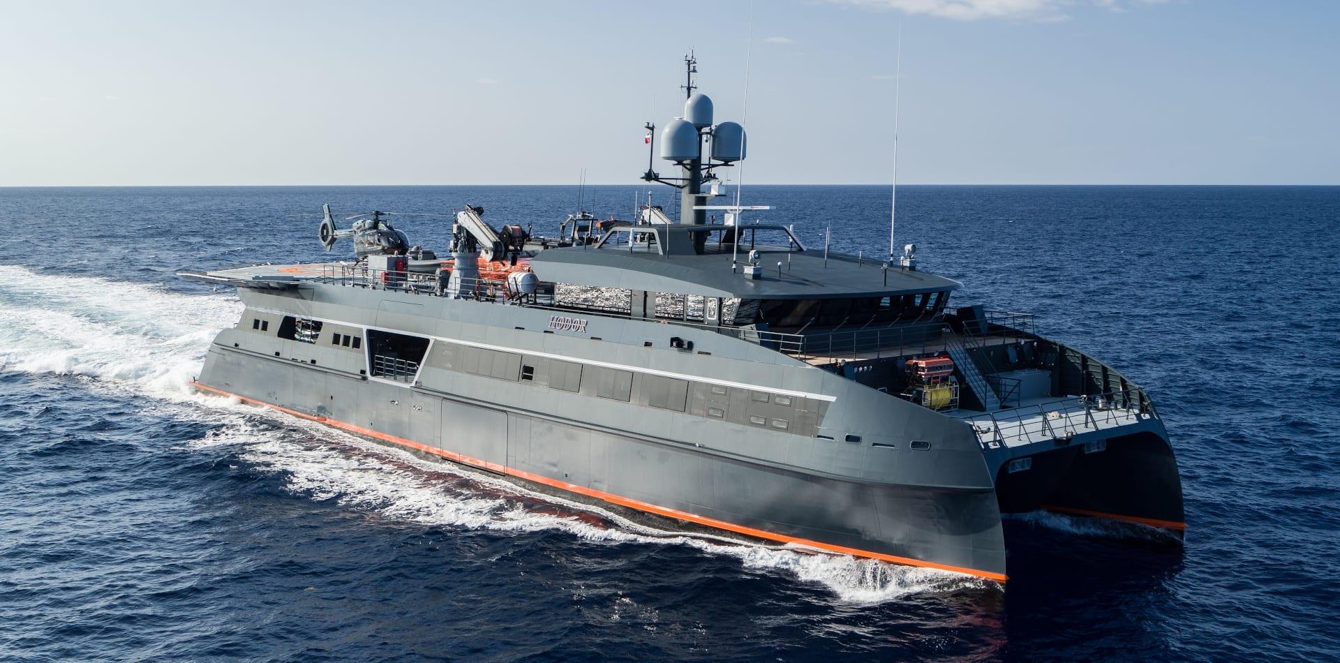 hodor support vessel exterior