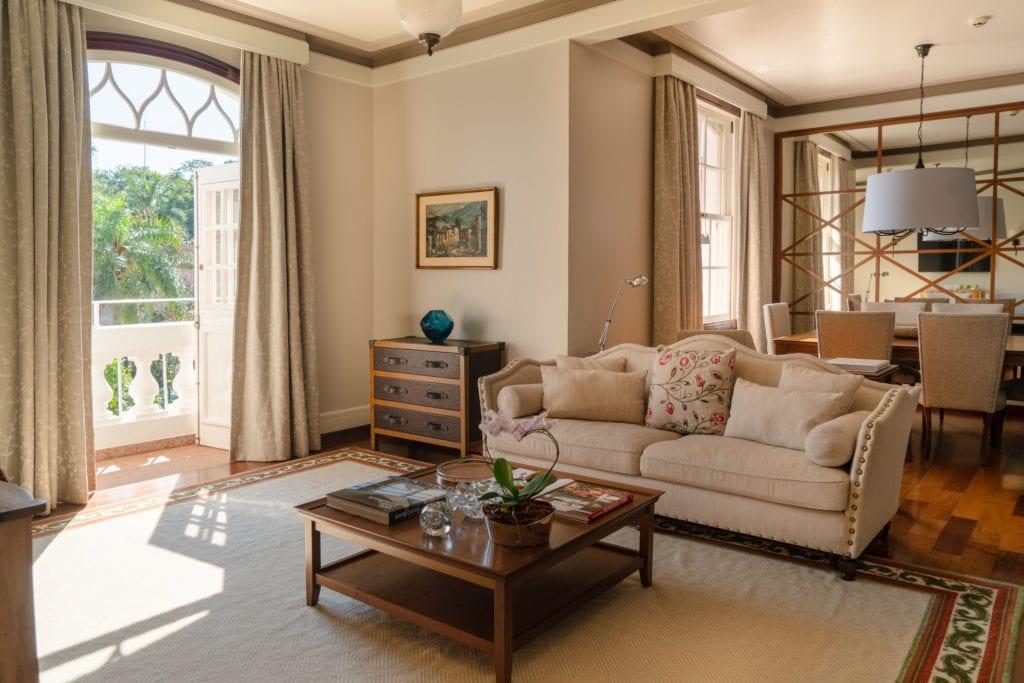 seating area Hotel das Cataratas