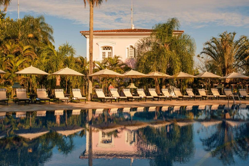 hotel das cataratas exterior swimming pool