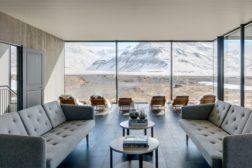 Iceland hotel interior
