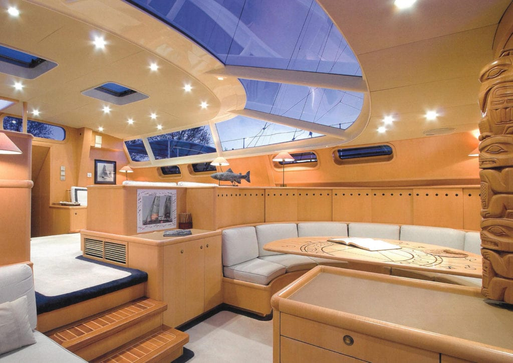 imagine yacht interior saloon