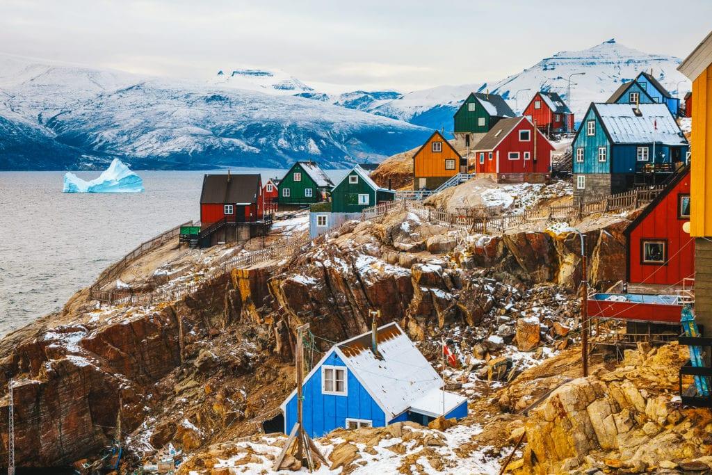 Inuit Uummannaq Village Greenland
