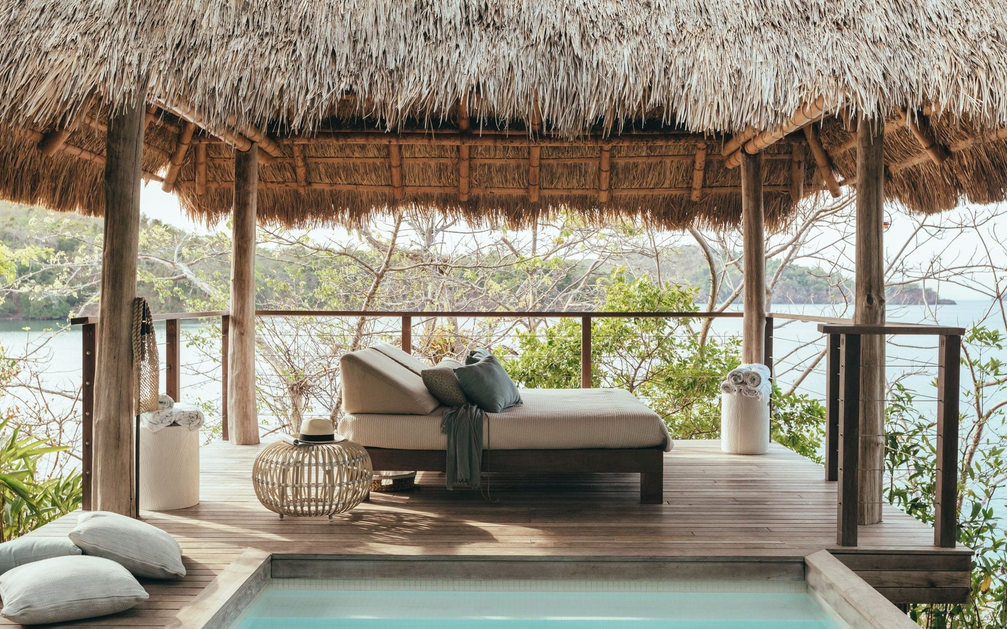 Isla Secas Lounge Area Panama