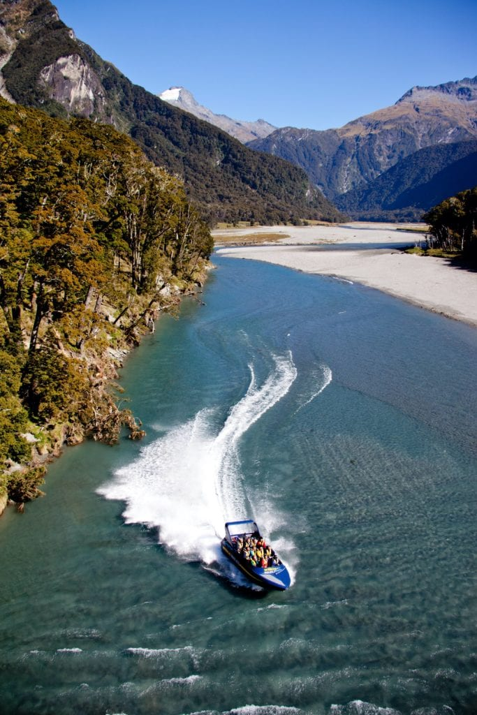 Jet Boat Queenstown New Zealand