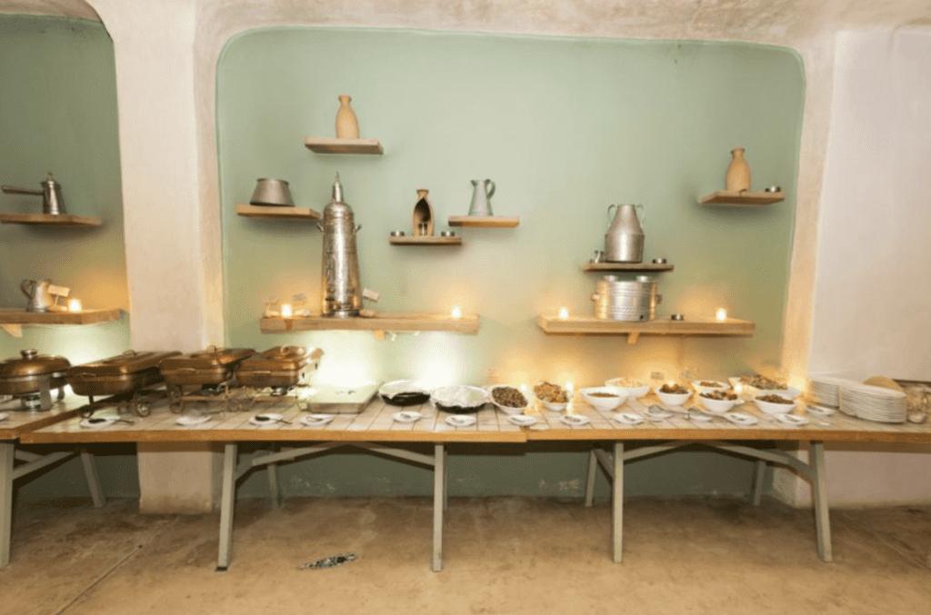 dining area fenyan ecolodge