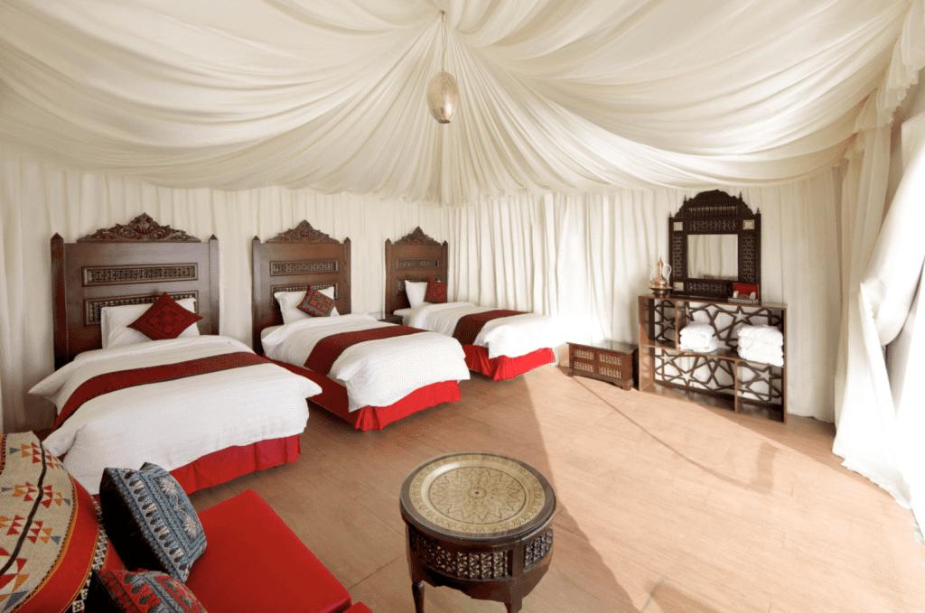 Jordan Wadi Rum Bedroom