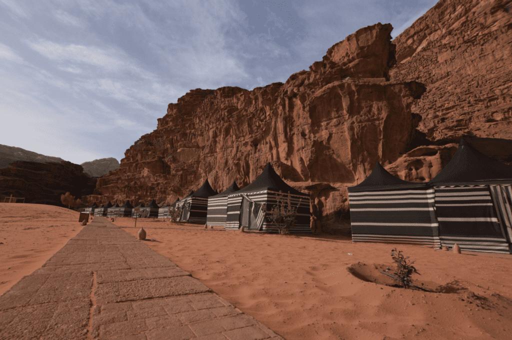 Jordan Wadi Rum Camp Site