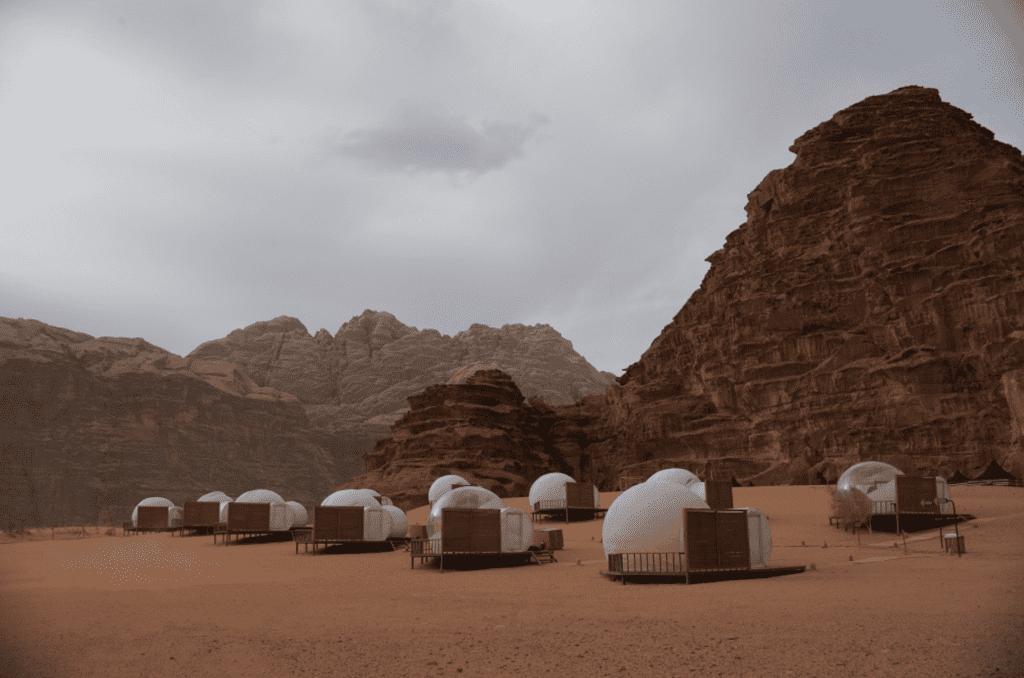 Jordan Wadi Rum Pods