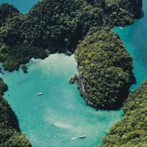 ko hong lagoon thailand