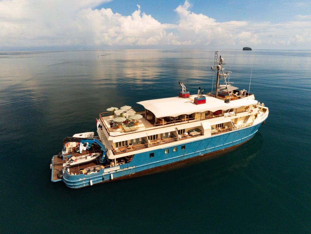 kudanil explorer expedition yacht exterior