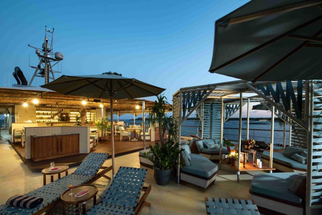 Top Deck on Kudnail Explorer Yacht