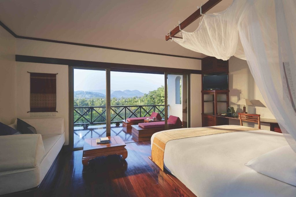la residence phou vao bedroom view