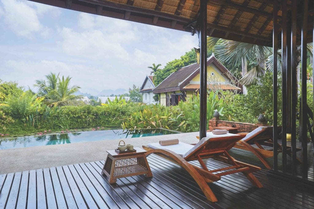 spa and pool la residence phou vao