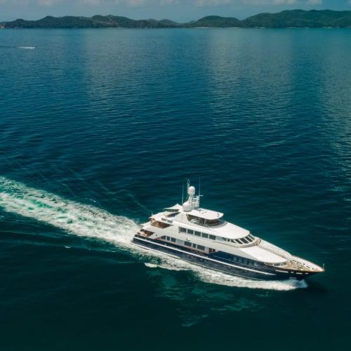 Lady Azul Yacht Cruising in Thailand