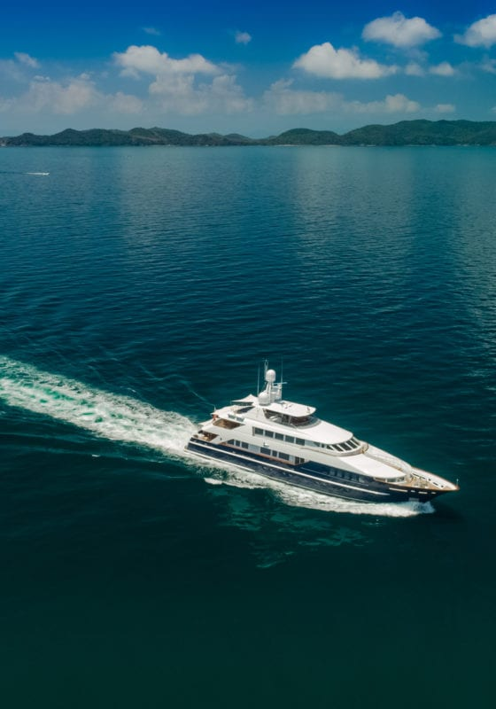 Lady Azul Yacht Cruising in Thailand