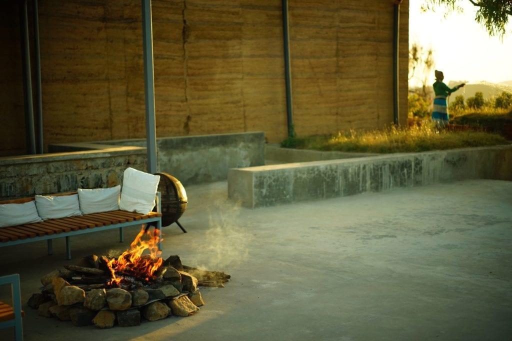 fire pit outdoors Limalino